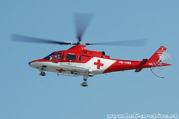 October 2009 - The Agusta A109K2 HB-XWG in service with Rega (K. Albisser)