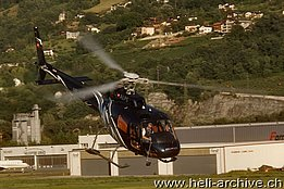 Sion/VS, August 2011 - The AS 350B3+ Ecureuil HB-ZJR in service with Héli-Alpes SA (B. Siegfried)