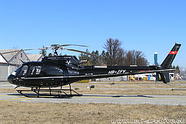 March 2005 - The AS 350B3 Ecureuil HB-ZFV in service with Heli-Bernina (HAB)