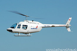 Dittingen/BL, August 2007 - The Bell 206B Jet Ranger II HB-XSL in service with Helitrans AG (K. Albisser)