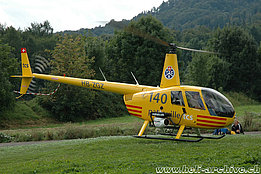 August 2005 - The Robinson R-44 Raven II HB-ZGZ in service with Valair (B. Siegfried)