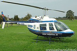 Sitterdorf/TG, July 2004 - The Bell 206B Jet Ranger III HB-XQO in service with Heli-Partner (K. Albisser)