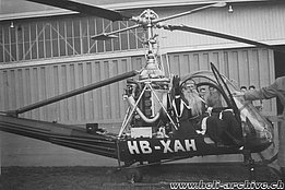 Special mission for the Hiller UH-12B HB-XAH in service with Air Import (M. Kramer)