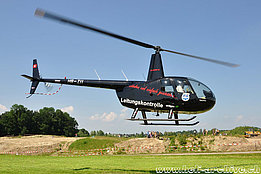Canton Turgau, June 2010 - The Robinson R-44 Raven II HB-ZII in service with Heli Partner AG (K. Albisser)