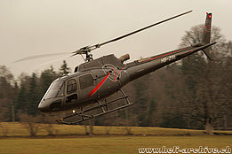 La Chaux-de-Fonds/NE, January 2011 - The AS 350B3 Ecureuil HB-ZSL in service with Swift Copters SA (B. Siegfried)