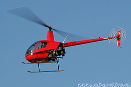 Sion/VS, January 2005 – The Robinson R-22 Beta II HB-ZGH in service with Heli-West AG (D. Gaule)