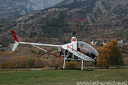 Raron/VS, November 2005 - The Elisport CH-7 Angel HB-YLF of Stocker Roland (M. Bazzani)