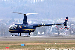 Grenchen/SO, March 2011 - The Robinson R-44 Raven II HB-ZHK in service with Mountain Flyers 80 Ltd (K. Albisser)