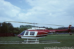 June 1989 - The Bell 206B Jet Ranger III HB-XSL in service with Mountain Flyers 80 Ltd (P. Wernli)