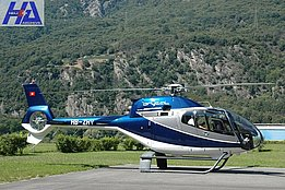 San Vittore/GR, Augusta 2008 - The EC 120B Colibrì HB-ZHV in service with the Brycal AG (M. Bazzani)