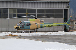 Belp/BE, January 2018 - The AS 350B3 Ecureuil HB-ZPN of Europavia (Suisse) SA (M. Ceresa)