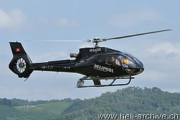 Birrfeld/AG, August 2012 - The EC 130B4 HB-ZJZ in service with Air Glaciers (T. Schmid)