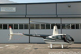Balzers/FL, August 2008 - The Robinson R-44 Raven I HB-ZDK in service with Montalin Heli AG (M. Bazzani)
