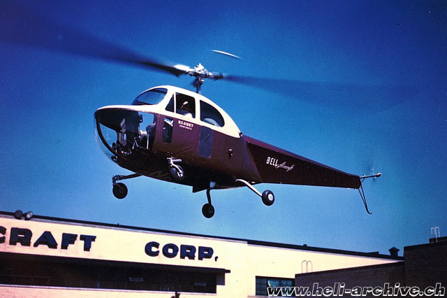 Bell 47B NX41967 was often used as a demonstrator (Bell Aircraft)