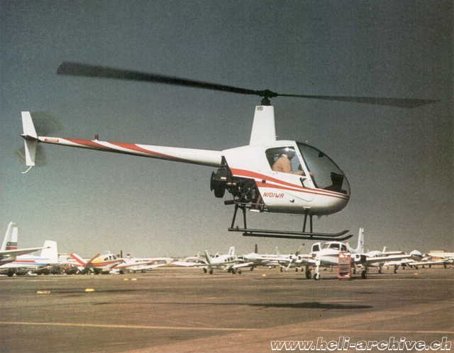 1979 - The Robinson 22 N101WR s/n 3 in service with Pacific Wing & Rotor Inc. (HAB)