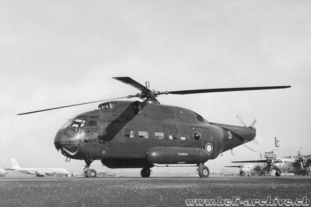 The SE 3200-001 Frelon F-ZWVS in its original look (HAB)