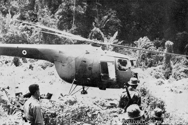 A Bristol 171 Sycamore on duty in Malaysia (HAB - brochure Bristol)