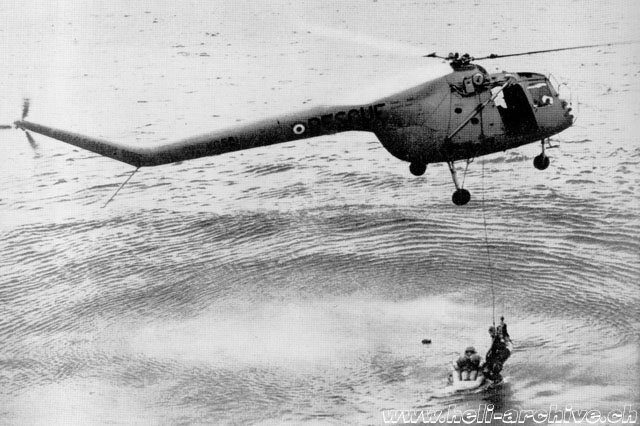 The Bristol 171 Sycamore was one of the first helicopters to be used for SAR missions (HAB - brochure Bristol)