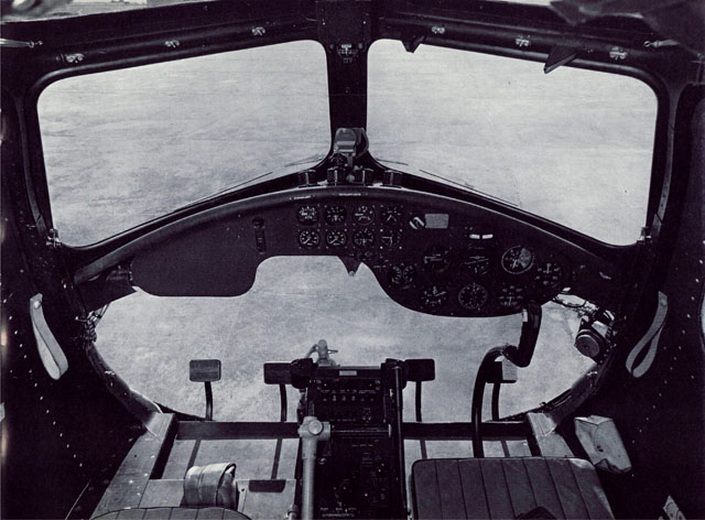 The cockpit layout of the Sycamore Mark 14 Helicopter (HAB)