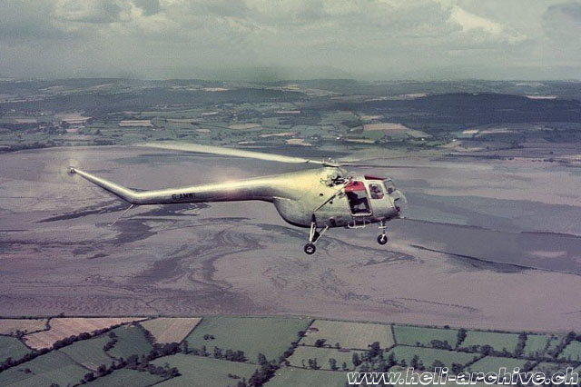 Air to air picture of the Bristol 171 Mk. 4 G-AMWI (archive M. Mau)