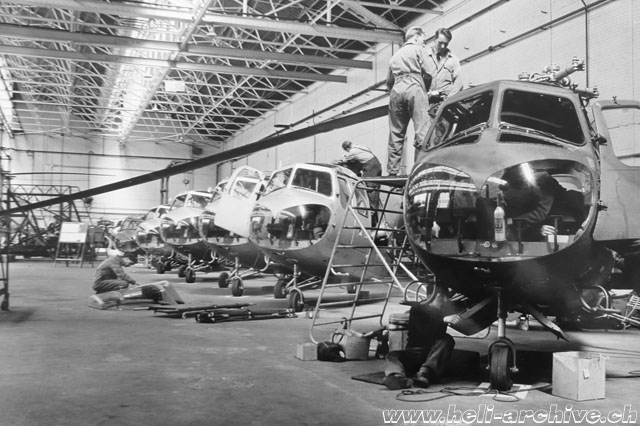 The production in series ended in December 1958 (Bristol Aero Collection Trust)