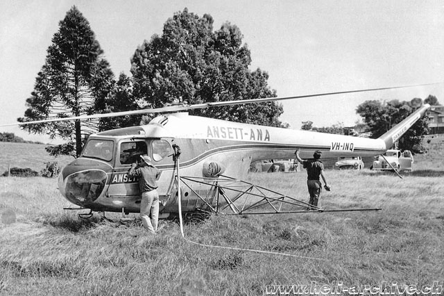 Australia, 1960s - The VH-INQ employed for spray flights (Fred Niven collection)