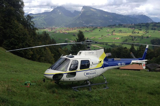 L'AS 350B3 Ecureuil HB-ZOJ (BEO Helicopter)