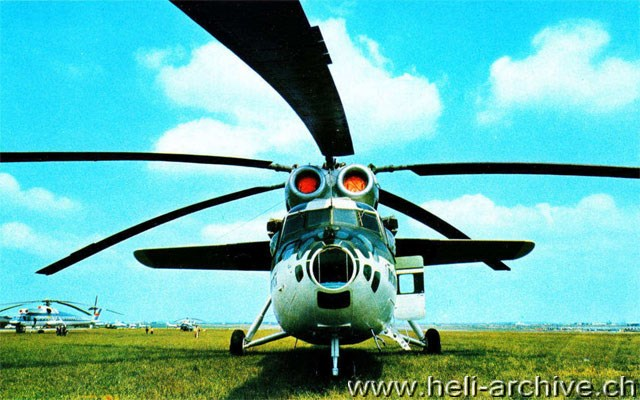 Front view of a Mil Mi-6 (HAB)