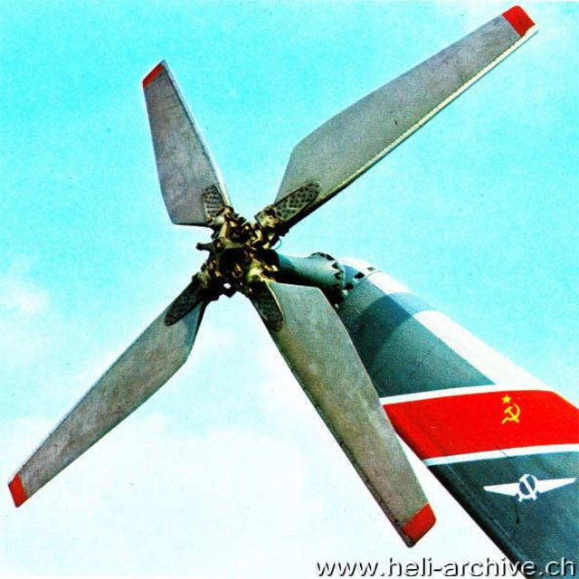 The impressive tail rotor of a Mil Mi-6 (HAB)