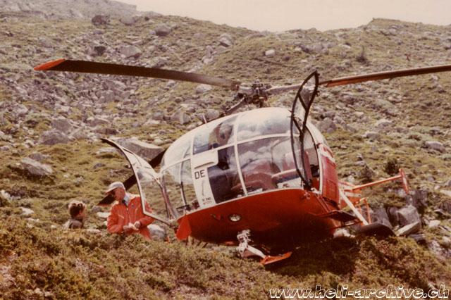 Elicottero Arancione : Donau werner pilota