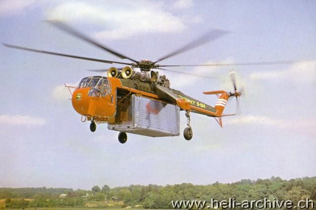 Elicottero S 64 F : Sikorsky s a sky crane